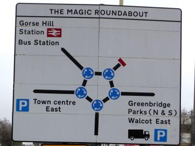 Swindon's 'Magic Roundabout'