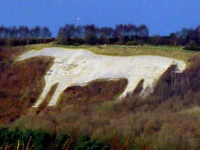 Kilburn White Horse, North York Moors